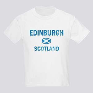 Edinburgh Scotland Designs Kids Light T-Shirt