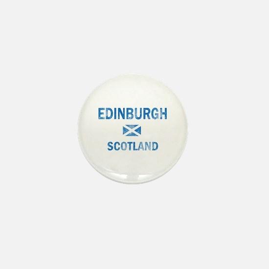 Edinburgh Scotland Designs Mini Button