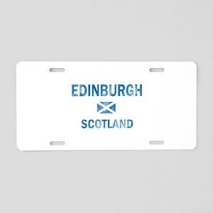 Edinburgh Scotland Designs Aluminum License Plate