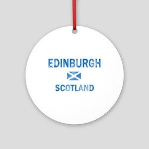 Edinburgh Scotland Designs Ornament (Round)