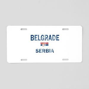 Belgrade Serbia Designs Aluminum License Plate