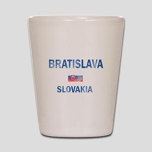 Bratislava Slovakia Designs Shot Glass