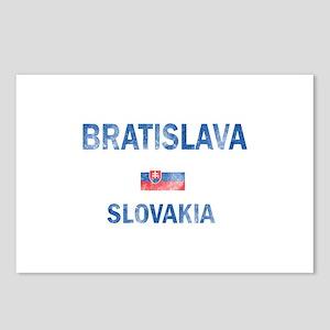 Bratislava Slovakia Designs Postcards (Package of