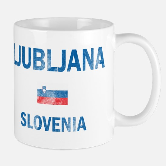 Ljubljana Slovenia Designs Mug