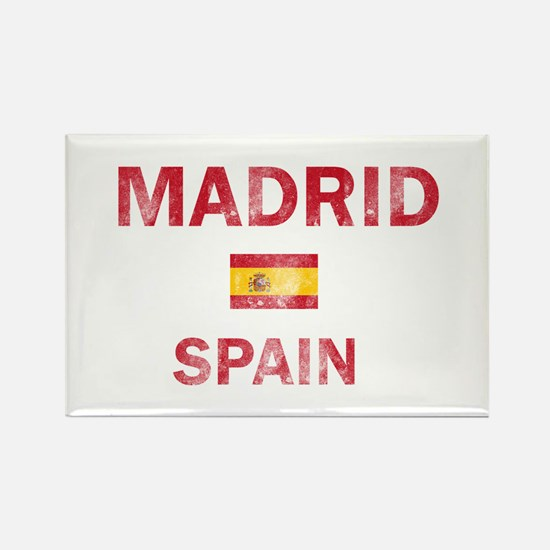 Madrid Spain Designs Rectangle Magnet
