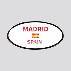 Madrid Spain Designs Patches