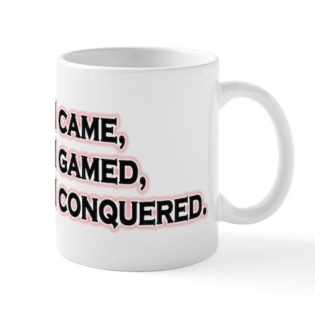 I Came, I Gamed... Mug
