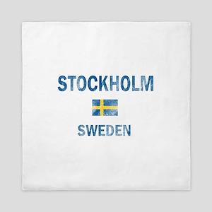 Stockholm Sweden Designs Queen Duvet