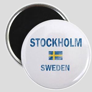 Stockholm Sweden Designs Magnet