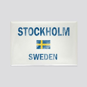 Stockholm Sweden Designs Rectangle Magnet