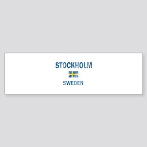 Stockholm Sweden Designs Sticker (Bumper)