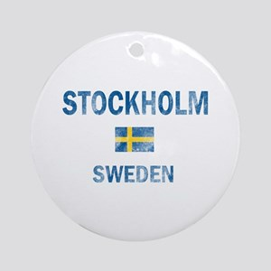 Stockholm Sweden Designs Ornament (Round)