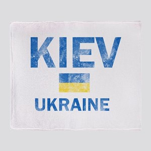 Kiev Ukraine Designs Throw Blanket