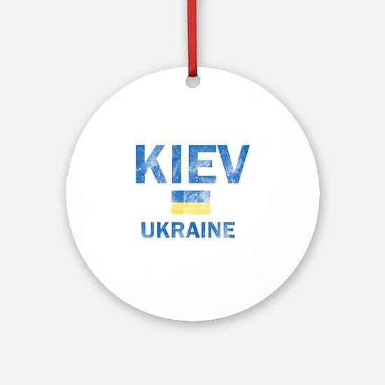 Kiev Ukraine Designs Ornament (Round)