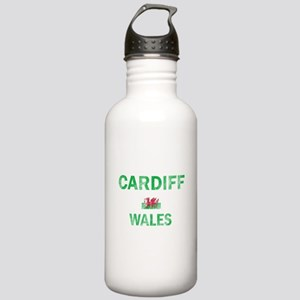 Cardiff Wales Designs Stainless Water Bottle 1.0L