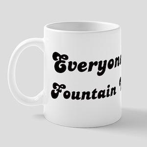Fountain Valley girl Mug