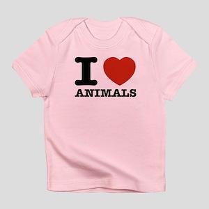 I Love Animals Infant T-Shirt