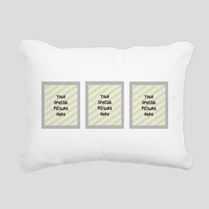 Your Custom Photos Rectangular Canvas Pillow