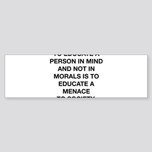 A Menace To Society Sticker (Bumper)