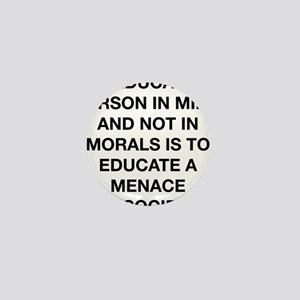 A Menace To Society Mini Button