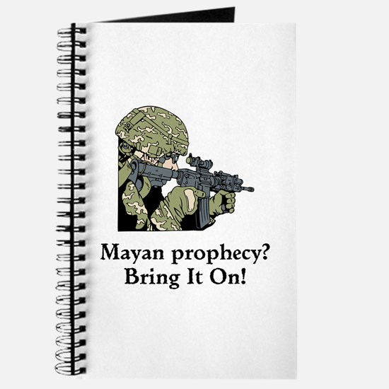 Mayan Prophecy, ring it on Journal