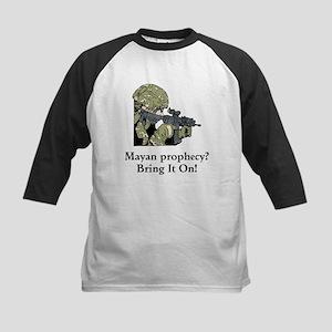 Mayan Prophecy, ring it on Kids Baseball Jersey