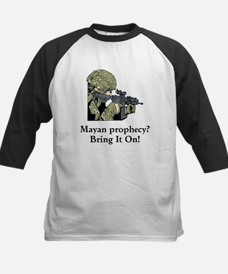 Mayan Prophecy, ring it on Kids Baseball Jersey