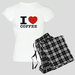 I Love Coffee Women's Light Pajamas