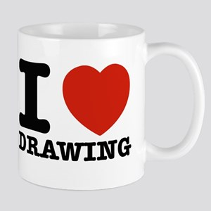 I Love Drawing Mug