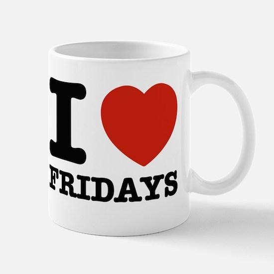 I Love Fridays Mug