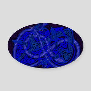 Celtic Best Seller Oval Car Magnet