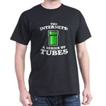 the internets: a series of tubes Black T-Shirt