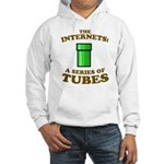 the internets: a series of tubes Hooded Sweatshirt
