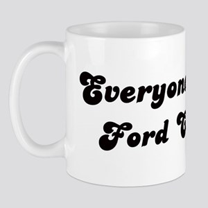 Ford City girl Mug