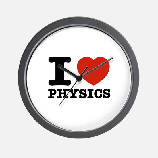 I Love Physics Wall Clock
