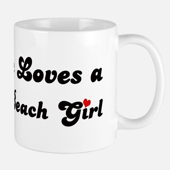 Hermosa Beach girl Mug