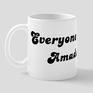 Amador girl Mug