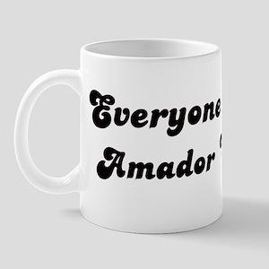 Amador City girl Mug