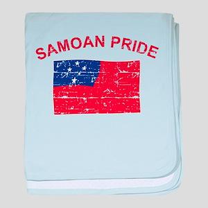 Samoan Pride baby blanket