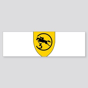 Artillerielehrregiment 3 Sticker (Bumper)