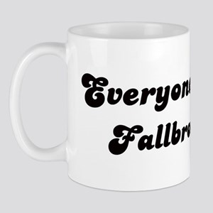 Fallbrook girl Mug