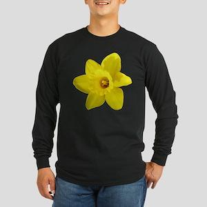 Daffodil Long Sleeve Dark T-Shirt