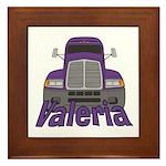 Trucker Valeria Framed Tile