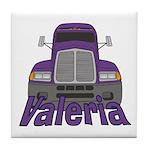 Trucker Valeria Tile Coaster
