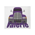 Trucker Valerie Throw Blanket