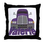 Trucker Valerie Throw Pillow