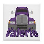 Trucker Valerie Tile Coaster