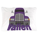 Trucker Vallen Pillow Case