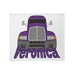 Trucker Veronica Throw Blanket
