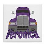 Trucker Veronica Tile Coaster